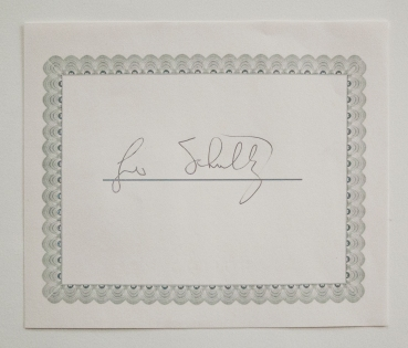 An example autograph